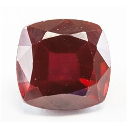 9.55ct Cushion Cut Pinkish Red Natural Ruby GGL