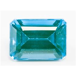 14.65ct Emerald Cut Blue Natural Grandidierite GGL