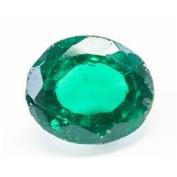 8.10ct Oval Cut Green Natural Chrome Diopside AGI