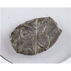 1696-1725 Russisan Peter Silver Kopeck Coin