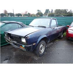 1986 Mitsubishi Mighty Max
