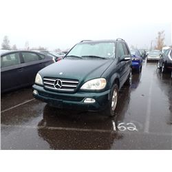 2003 Mercedes-Benz ML500