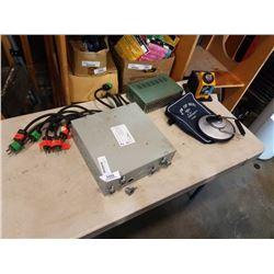Hammond power distribution box, splitter and plasplugs power unit
