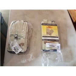 2 BAGS OF CONDOR ROPER WORK GLOVES