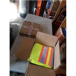TWO HIGH VIS ARMORWISE BIB STYE OVERALL 3XL