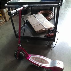 Pink razor electric scooter no charger