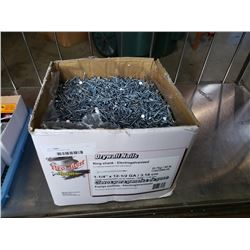 "Box of 1 1/4"" drywall nails"