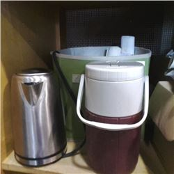 Fabric box of cooler, kettle and more
