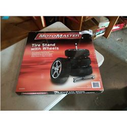 MOTOMASTER TIRE STAND - NEW IN BOX