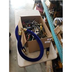 Box of tools and station tube