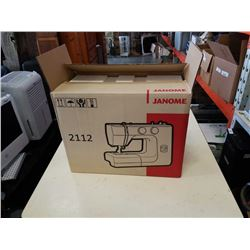 JANOME SEWING MACHINE IN BOX