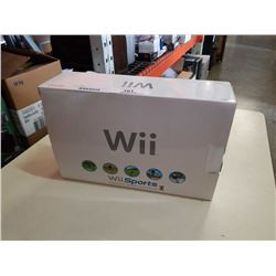 WII CONSOLE IN BOX - NO CONTROLLERS