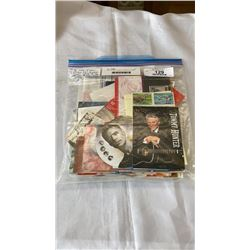 100S OF NEW UNUSED CANADIAN STAMPS IN SHEETS, PACKAGES ETC, AND LADY DIANA PRINCESS OF WALES STAMPS
