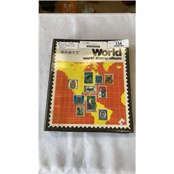 SCOTT WORLD STAMP ALBUM