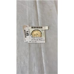1958 CANADIAN SILVER DOLLAR - NEAR MINT .800 SILVER