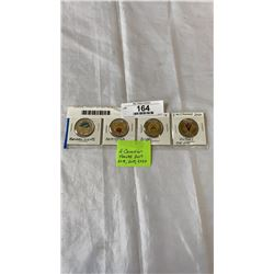 4 SPECIAL TOONIES - 2017 NORTHERN LIGHTS, 2018 ARMISTICE, 2019 D-DAY, 2020 VICTORY