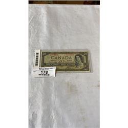 1954 CANADIAN DEVIL FACE 20 DOLLAR BILL