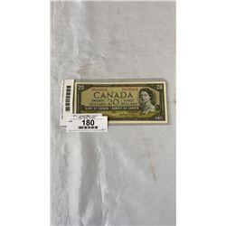 1954 UNCIRCULATED CANADIAN 20 DOLLAR BILL