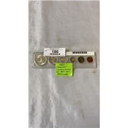 1967 CANADIAN CENTENNIAL COIN SET 1867-1967  .800 SILVER