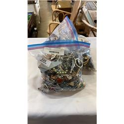 3 LARGE BAGS OF JEWELLERY, WATCHES, ETC