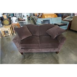 BROWN LAZBOY LOVESEAT