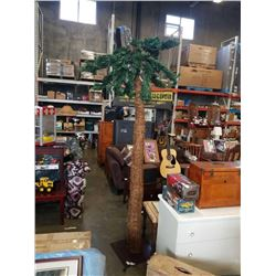 CHRISTMAS PALM TREE APPX 6 1/2 FEET TALL