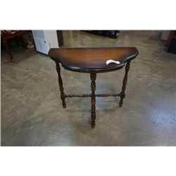 ANTIQUE D-TABLE RESTMORE MADE IN VANCOUVER