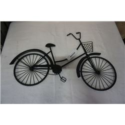 DECORATIVE WALL HANGING BICYCLE