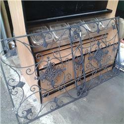 "2 pc decorative metal panels 31"" x 31"""