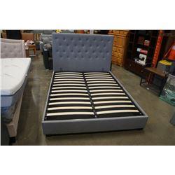 BRAND NEW QUEENSIZE HUSKY LOGAN BED FRAME  W/ UNDER BED STORAGE RETAIL $1099