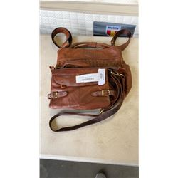 2 ONE FATED KNIGHT GENUINE LEATHER BAGS - 1 NEW RETAIL $399+