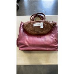2 NEW ONE FATED KNIGHT GENUINE LEATHER BAGS - 1 RETAILS $248