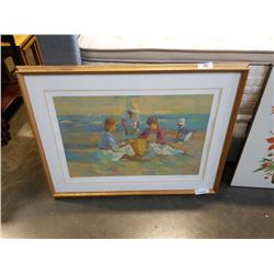 DON HATFIELD SERIGRAPH IN COLOR SIGNED NUMBERED 43/300