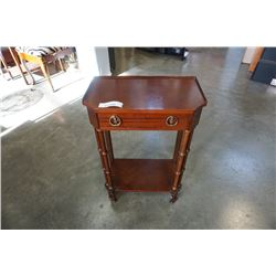 BOMBAY CO 1 DRAWER STAND AND HAMPER