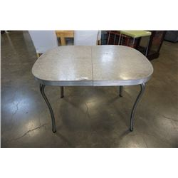 RETRO GREY ARBORITE DINING TABLE