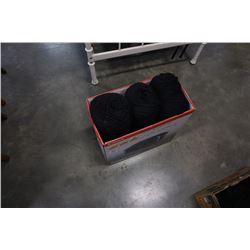 Box of New Zealand wool yarn