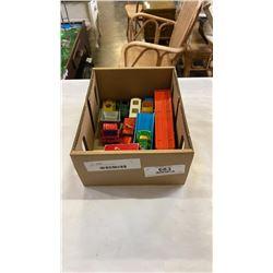 BOX OF VINTAGE LESNEY