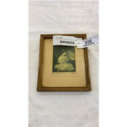 SIR JOSHUA REYNOLDS 1ST EDITION PRINT 1892