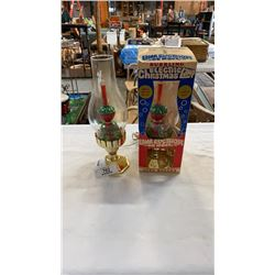 2  1970S BUBBLING CHRISTMAS LAMPS