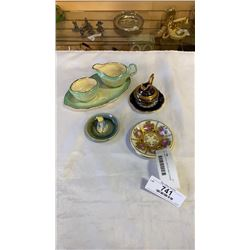 MINI LIMOGE, ROYAL WINTON AND OTHER CHINA AND COPPER KETTLE