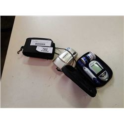 Olympus stylus epic 35 MM all weather camera and blood sugar test kit