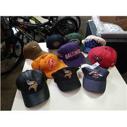 10 NFL HATS