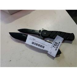 BOKER AND WARTECH FOLDING KNIVES