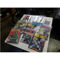 LOT OF HIGH TIMES MAGAZINES