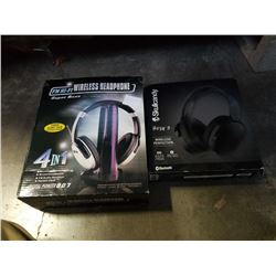 2 headphone sets