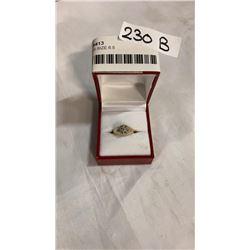 10K RING SIZE 6.5