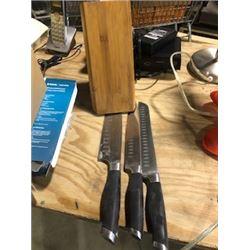 knives and block