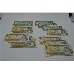 Canadian $1 Bills