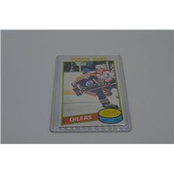 Wayne Gretzky 1st Year NHL Card