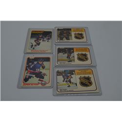 Mike Bossy Early carreer cards